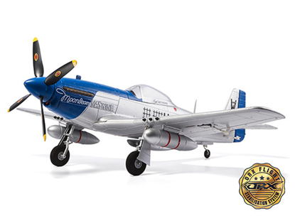 "Picture of H-King P-51D Moonbeam McSwine 750mm (30"") V2 w/6 Axis ORX Flight Stabilizer (PNF) Gyro"