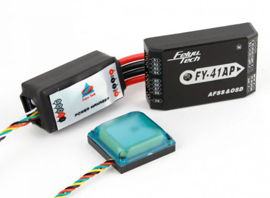 Picture of FY-41AP-M Auto-Pilot/ Flight Controller with OSD, GPS and Power Manager