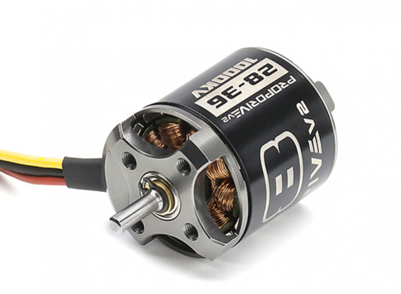 Picture of Střídavý motor Turnigy PROPDRIVE v2 2836 1000KV 400W