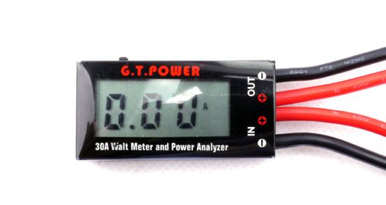 Bild von G.T.Power LCD 30A Mni Watt Meter