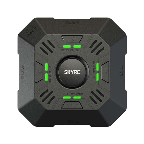 Picture of SKYRC E4Q 2-4S Multi Charger SK-100140 (Charging up to 4 batteries)