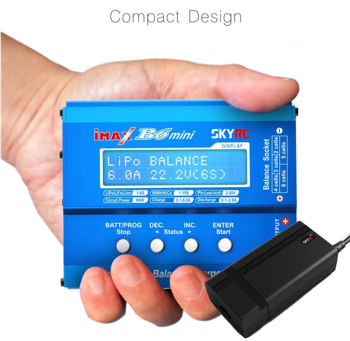 Bild von Nabíječka a balancér SkyRC iMAX B6 Mini Professional + napájecí zdroj SkyRC 15V 4A