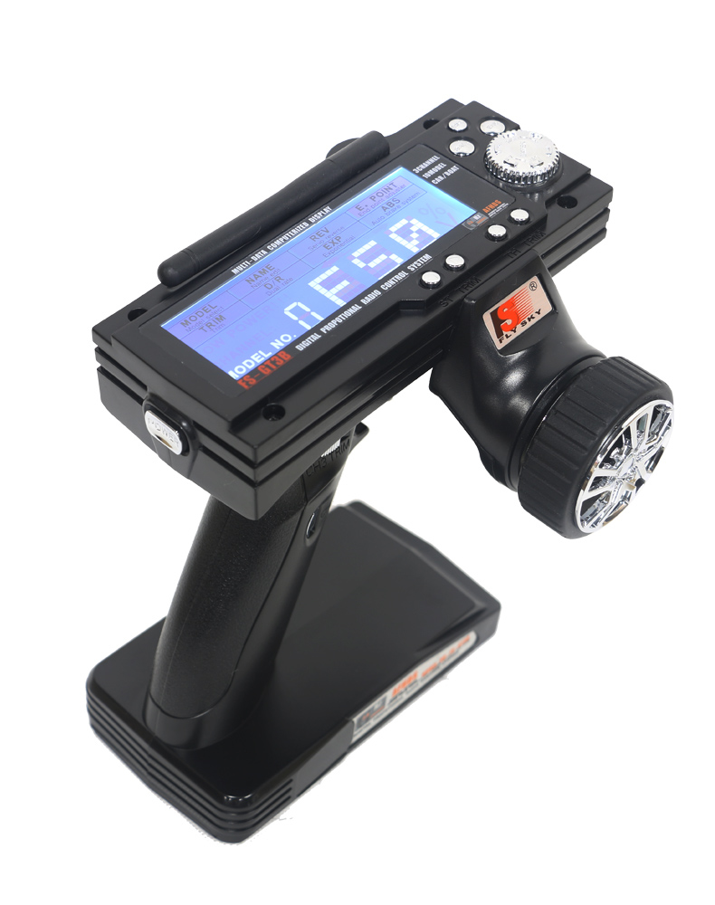 Picture of FlySky FS-GT3B 3CH 2.4G RC Boat Control Gun Transmitter + Receiver GR3E
