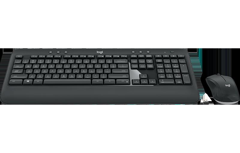 Picture of Logitech MK540 ADVANCED, CZ/SK, bezdrátová klávesnice + myš