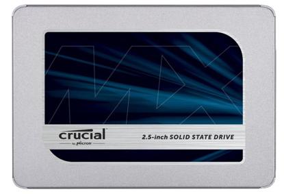 "Picture of Crucial SSD 500GB MX500 SATA III 2.5"" 3D TLC 7mm (čtení/zápis: 560/510MB/s; 95/90K IOPS) + 9.5mm adaptér"