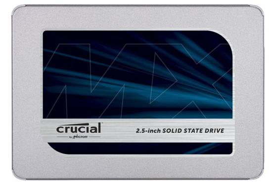 """Bild von Crucial SSD 250GB MX500 SATA III 2.5"""" 3D TLC 7mm (čtení/zápis: 560/510MB/s; 95/90K IOPS) + 9.5mm adaptér"""