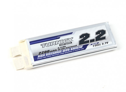 Picture of Turnigy 2200mAh 1S 40C Lipo Pack (Single Cell)
