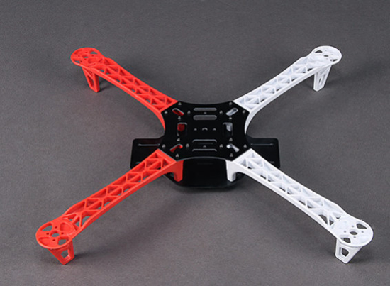 Picture of Q450 Glass Fiber Quadcopter Frame 450mm with Flamewheel Style Arms