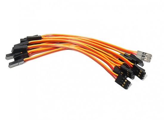 Picture of Propojovací kabel 26 AWG 100mm (přijímač => deska) 1ks