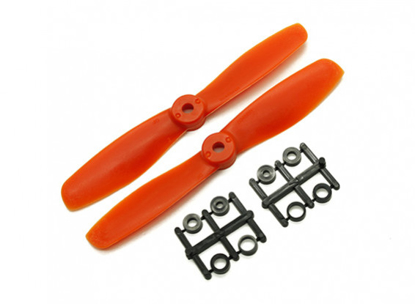 Picture of Gemfan Bull Nose BN 5045 Propellers CW/CCW Set (Orange) 5 x 4.5