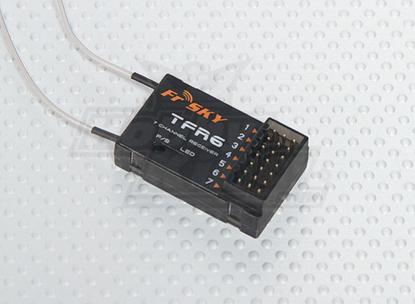 Picture of Přijímač Frsky TFR6 7ch FASST pro Futabu (H)